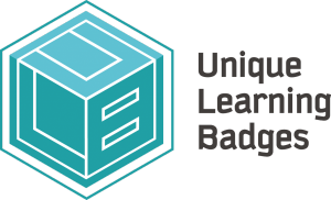 ULB logo blue text
